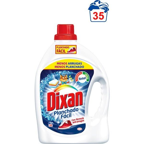 Dixan detergente planchado fácil 35 lavados