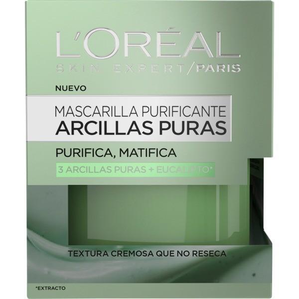 L´OREAL SKIN EXPERT Mascarilla purificante Arcillas Puras  50ml