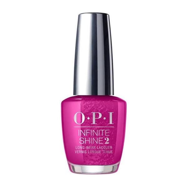 Opi infinite shine laca de uñas flashbulb fuchsia