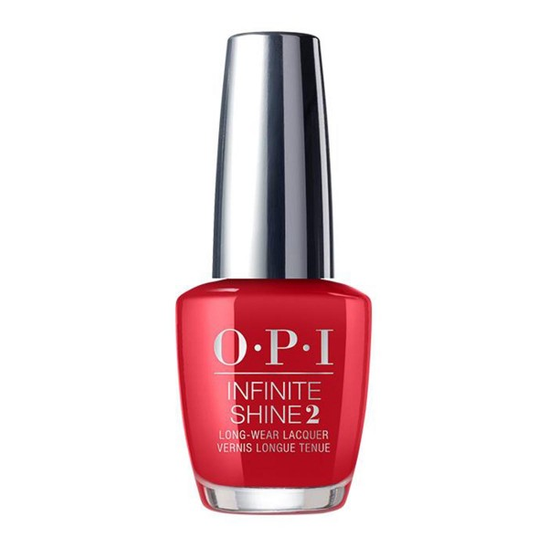 Opi infinite shine laca de uñas color so hot it berns