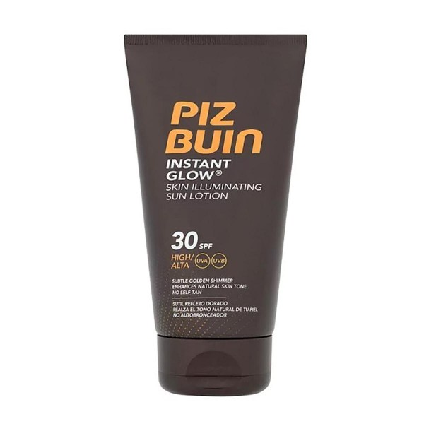 Piz buin instant glow skin illuminating sun lotion spf30 150ml