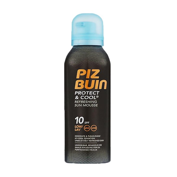 Piz buin protect&cool refreshing sun mousse spf10 150ml