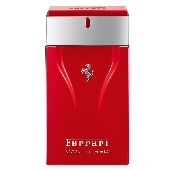 Ferrari man in red eau de toilette 100ml vaporizador