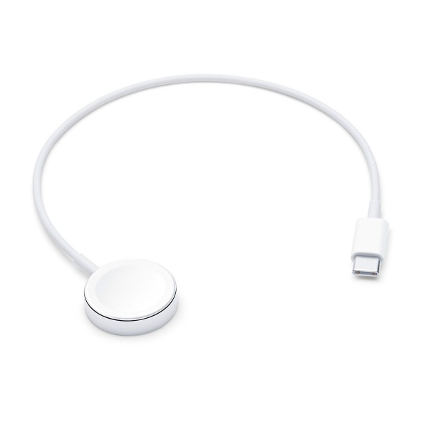 Apple base de carga magnética para apple watch usb-c blanco
