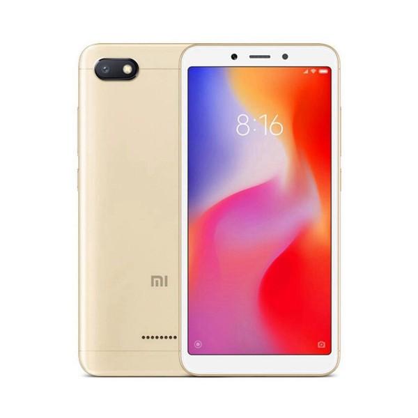 Xiaomi redmi 6a dorado móvil 4g dual sim 5.45'' ips hd+/4core/32gb/2gb ram/13mp/5mp