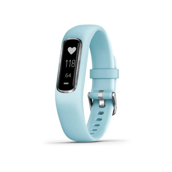 Garmin vivosmart 4 azul celeste talla s/m pulsera monitor de actividad inteligente