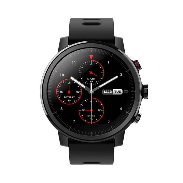 Xiaomi amazfit stratos smartwatch negro 1.34'' wifi gps bluetooth pulsómetro notificaciones inteligentes