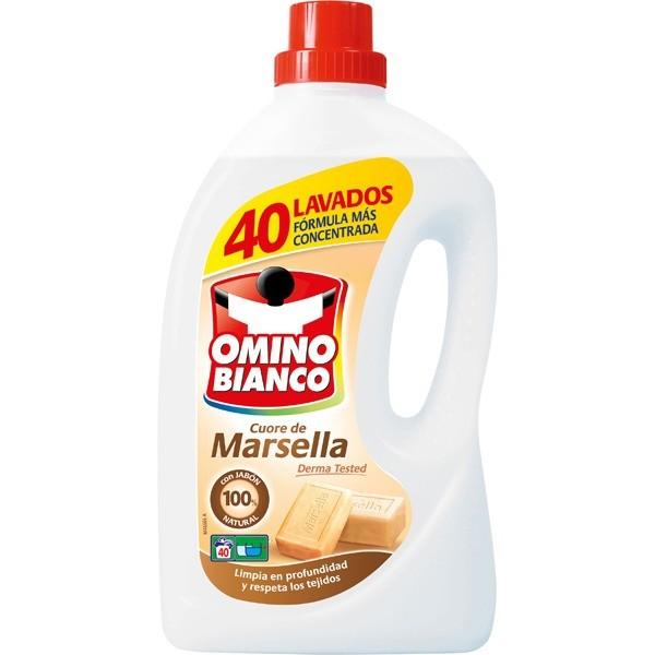 OMINO BIANCO  Detergente  Marsella 40 lavados