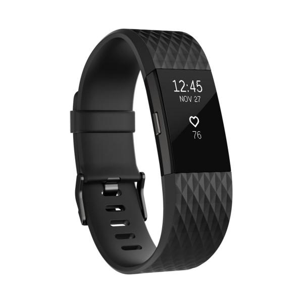 Fitbit charge 2 pulsera actividad gris plomo tamaño l