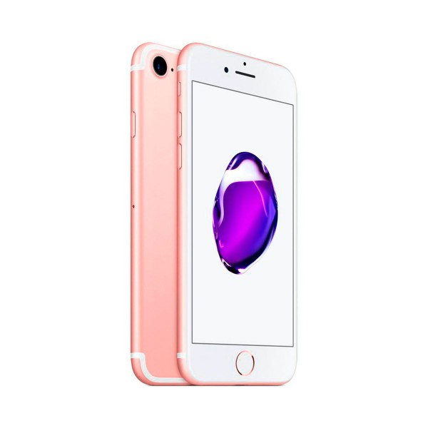 Apple iphone 7 32gb oro rosa reacondicionado grado a+ móvil 4g 4.7'' retina hd/4core/32gb/2gb ram/12mp/7mp