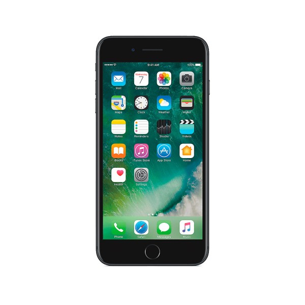 Apple iphone 7 plus 128gb negro mate móvil 4g 5.5'' ips/4core/128gb/3gb ram/12mp dual ois/7mp