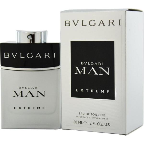 Bvlgari man extreme eau de toilette 60ml vaporizador