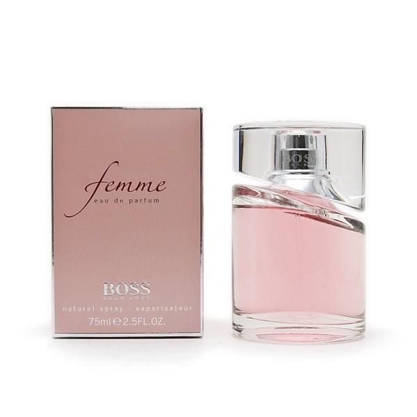 Hugo boss by femme eau de parfum 75ml vaporizador