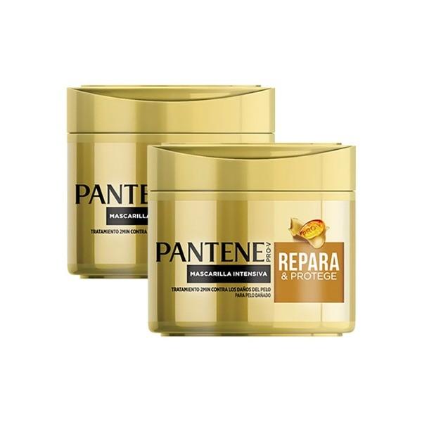 PANTENE Mascarilla Repara &  Protege DUPLO 2 x 300 ml