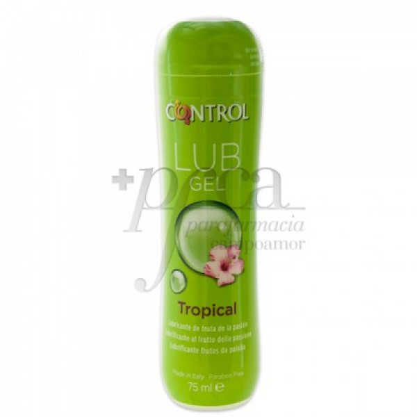 CONTROL LUB GEL TROPICAL 75 ML