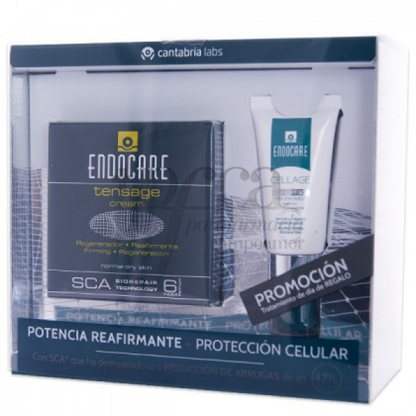 ENDOCARE TENSAGE CREMA + CELLAGE SPF30 PROMO