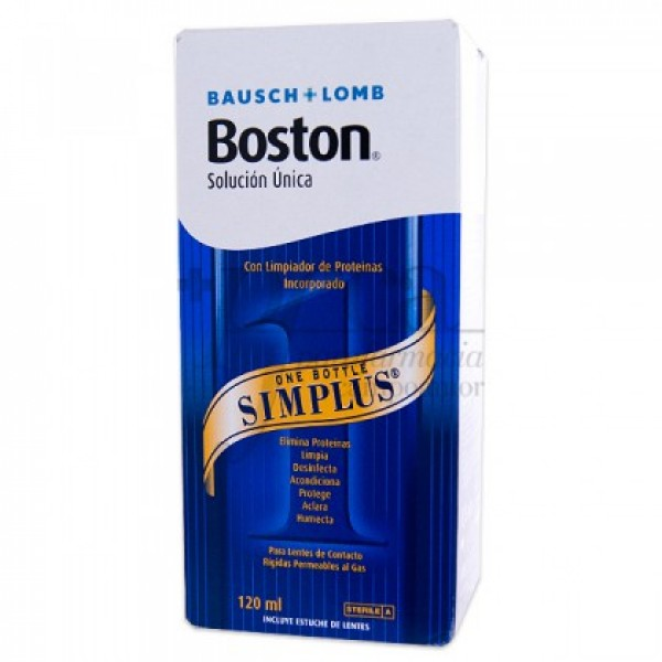 SOLUCION UNICA BOSTON SIMPLUS 120 ML
