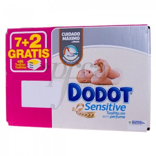 DODOT CAJA DE TOALLITAS 7+2 PROMO