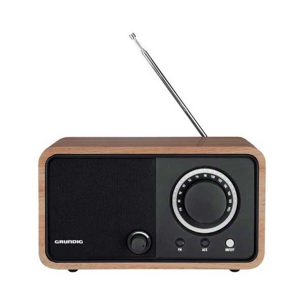 Grundig tr 1200 radio clásica marron