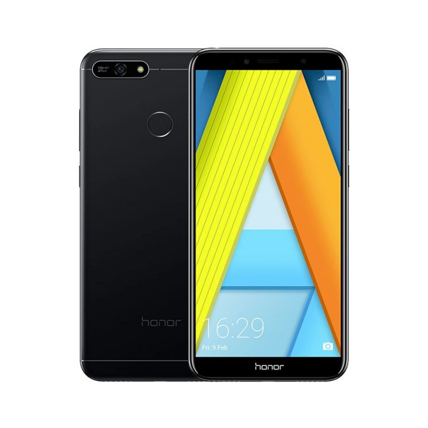 Honor 7a negro móvil 4g dual sim 5.7'' ips hd+/8core/32gb/3gb ram/13mp/8mp