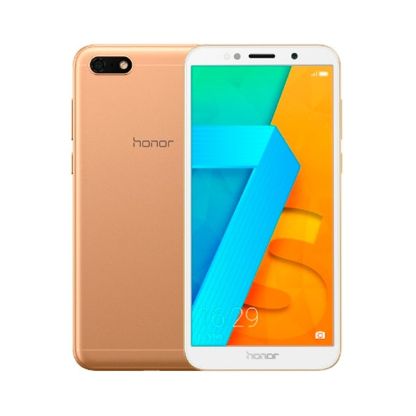 Honor 7s oro móvil 4g dual sim 5.45'' ips hd+/4core/16gb/2gb ram/13mp/5mp