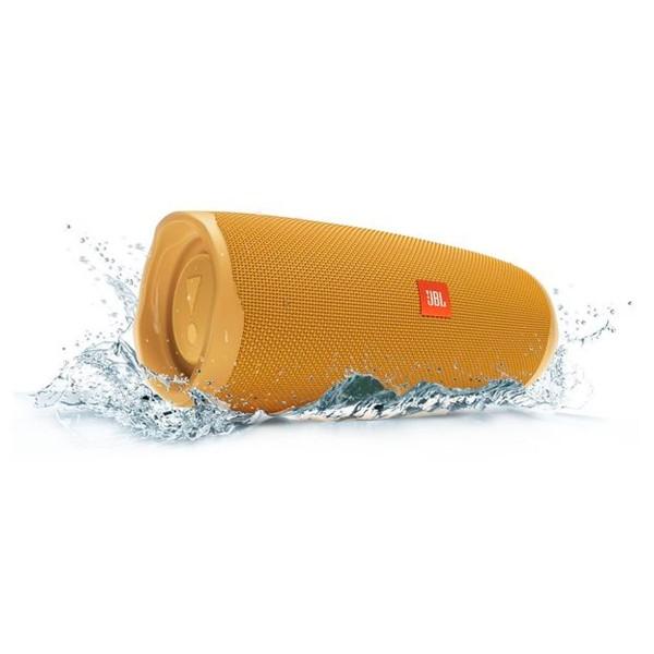 Jbl charge 4 amarillo mostaza altavoz inalámbrico portátil 30w bluetooth impermeable ipx7