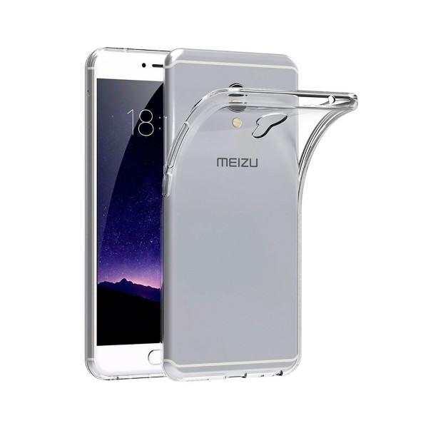 Jc carcasa transparente meizu mx6
