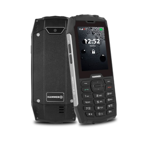 Myphone hammer 4 plata móvil resistente ip68 dual sim 2.8'' tft cámara bluetooth radio fm
