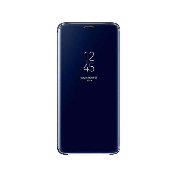 Samsung clear view standing azul galaxy s9+ funda con tapa