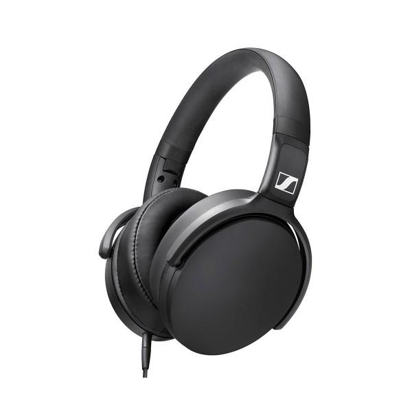 Sennheiser hd-400s auriculares over-ear hifi plegables con micrófono y control remoto de volumen y llamadas