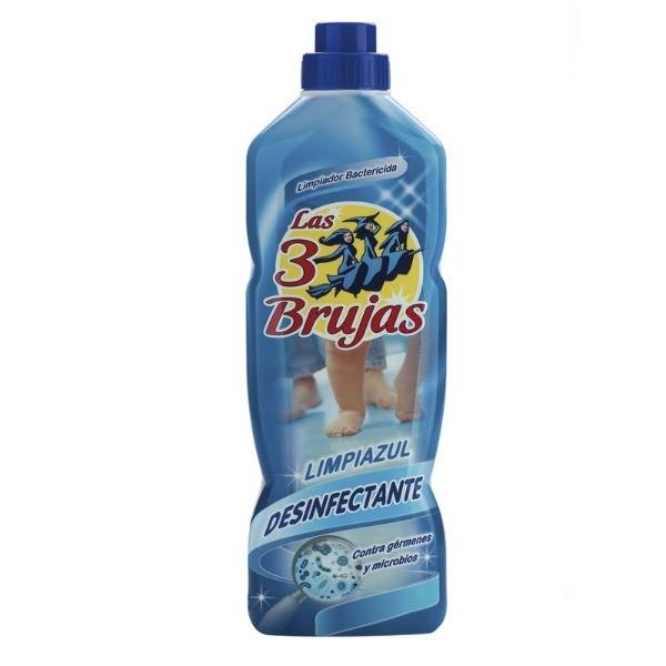 Las Tres brujas Limpiador Azul  1000 ml