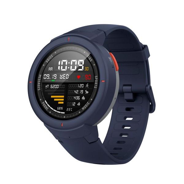 Xiaomi amazfit verge smartwatch azul 1.3'' amoled wifi gps bluetooth 5 días de autonomía 4gb/512mb