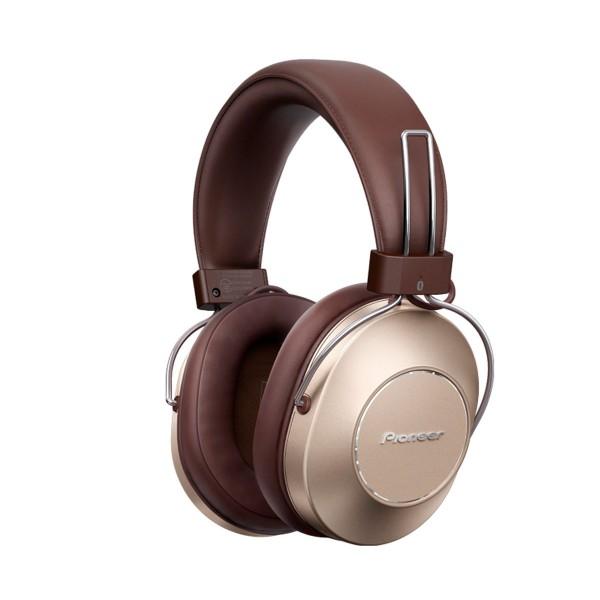 Pioneer se-ms9bn-g oro auriculares s9 inalámbricos bluetooth nfc 40mm con cancelación de ruido