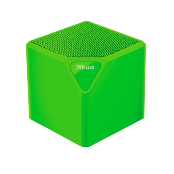 Trust primo wireless bluetooth speaker verde mini altavoz inalámbrico 3w rms bluetooth usb microsd y aux