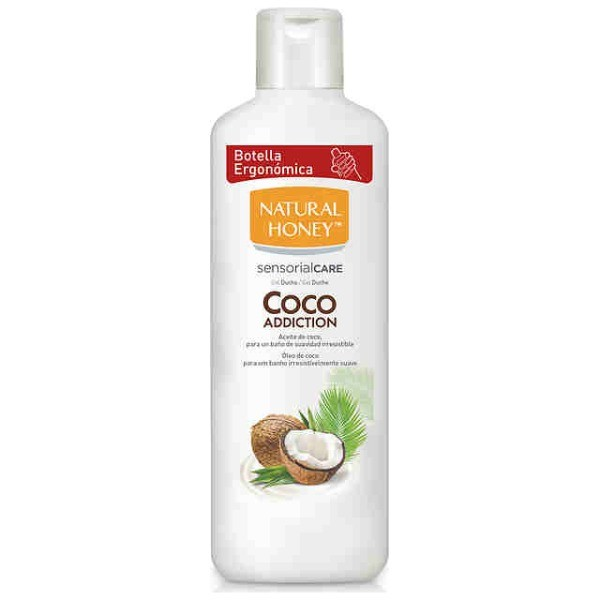 Natural Honey gel aceite de coco 650 ml.