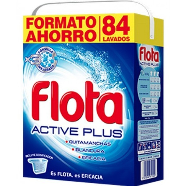 Flota Detergente Active Plus 84 cacitos