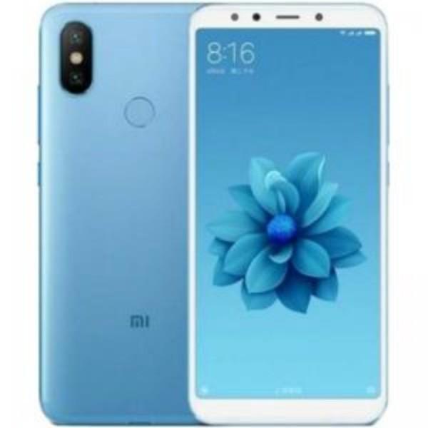 Xiaomi mi a2 azul móvil 4g dual sim 5.99'' ips fhd+/8core/128gb/6gb ram/20mp+12mp/20mp