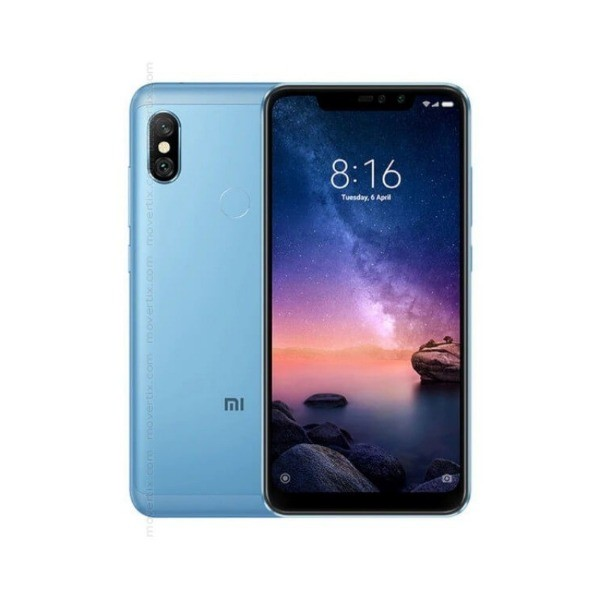 Xiaomi redmi note 6 pro azul móvil 4g dual sim 6.26'' ips fhd+/8core/32gb/3gb ram/12mp+5mp/20mp+2mp