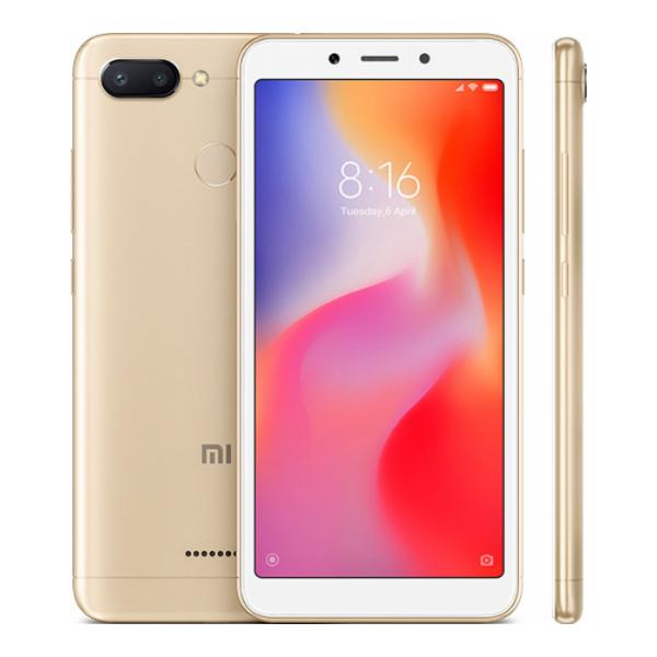 Xiaomi redmi 6 dorado móvil 4g dual sim 5.45'' ips hd+/8core/32gb/3gb ram/12mp+5mp/5mp
