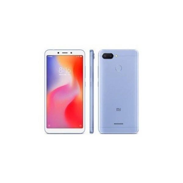 Xiaomi redmi 6 azul móvil 4g dual sim 5.45'' ips hd+/8core/32gb/3gb ram/12mp+5mp/5mp
