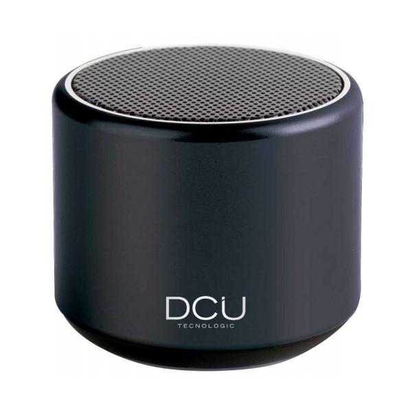 Dcu negro altavoz inalámbrico portátil 3w rms bluetooth micrófono manos libres