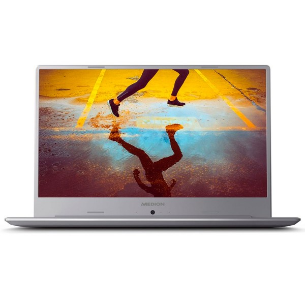 Medion s6445 plata portátil 15.6'' ips fullhd/i3 3.9ghz/256gb/8gb ram/w10 home