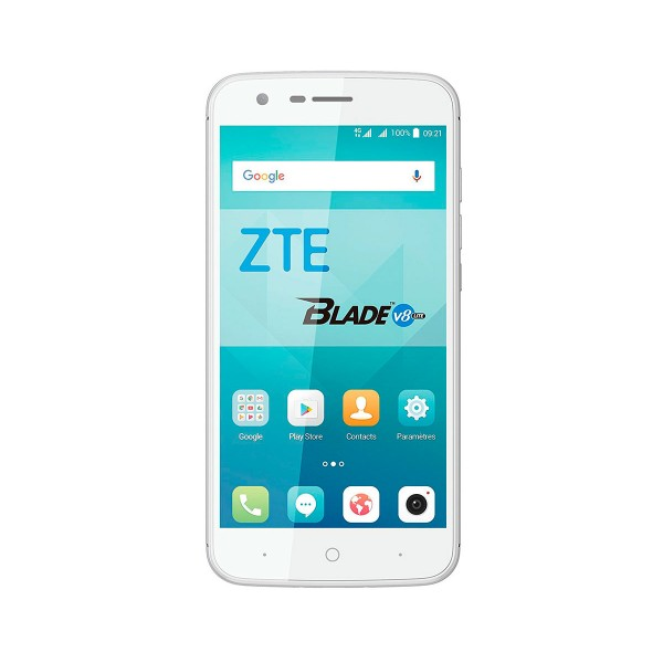 Zte v8 lite móvil blanco plata 4g dual sim 5'' ips/8core/16gb/2gb ram/8mp/5mp