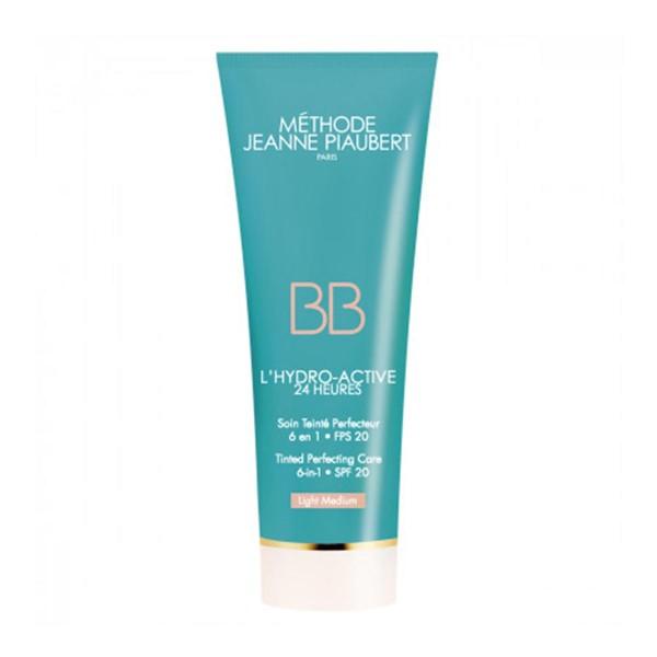 Jeanne piaubert l'hydro-active bb cream light medium 50ml