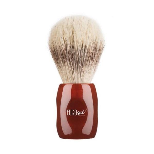 Eurostil brocha afeitar pelo caballo/cerdo 24mm m/rojo