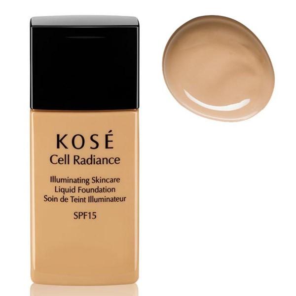 Kose cell radiance illuminating liquid foundation 201 natural beige 30ml