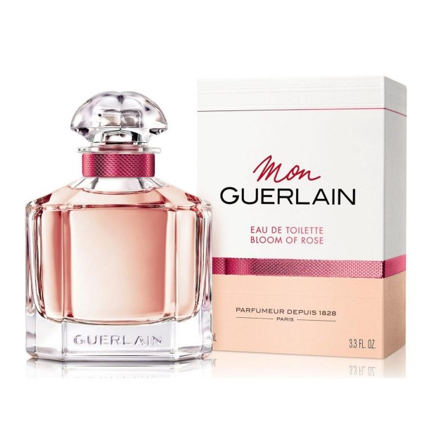 Guerlain mon bloom rose eau de toilette 100ml vaporizador