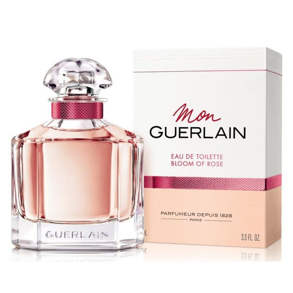 Guerlain mon bloom rose eau de toilette 50ml vaporizador