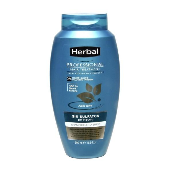 Herbal hispania professional care champu ph neutro sin sulfatos 500ml