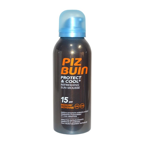 Piz buin protect&cool refreshing sun mousse spf15 medium 150ml